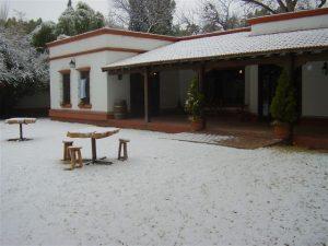 Bodega Goyenechea en Invierno